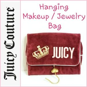 Juicy Couture Hanging Bag for Jewelry/Makeup
